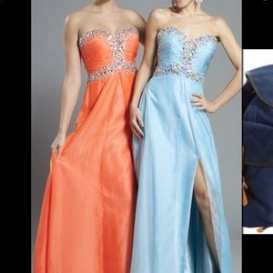 Dresses & Skirts - Baby Blue BEAUTIFUL Prom Dress